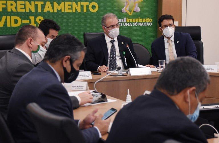 Ministro da Saúde fala sobre combate à pandemia em audiência da Câmara dos Deputados