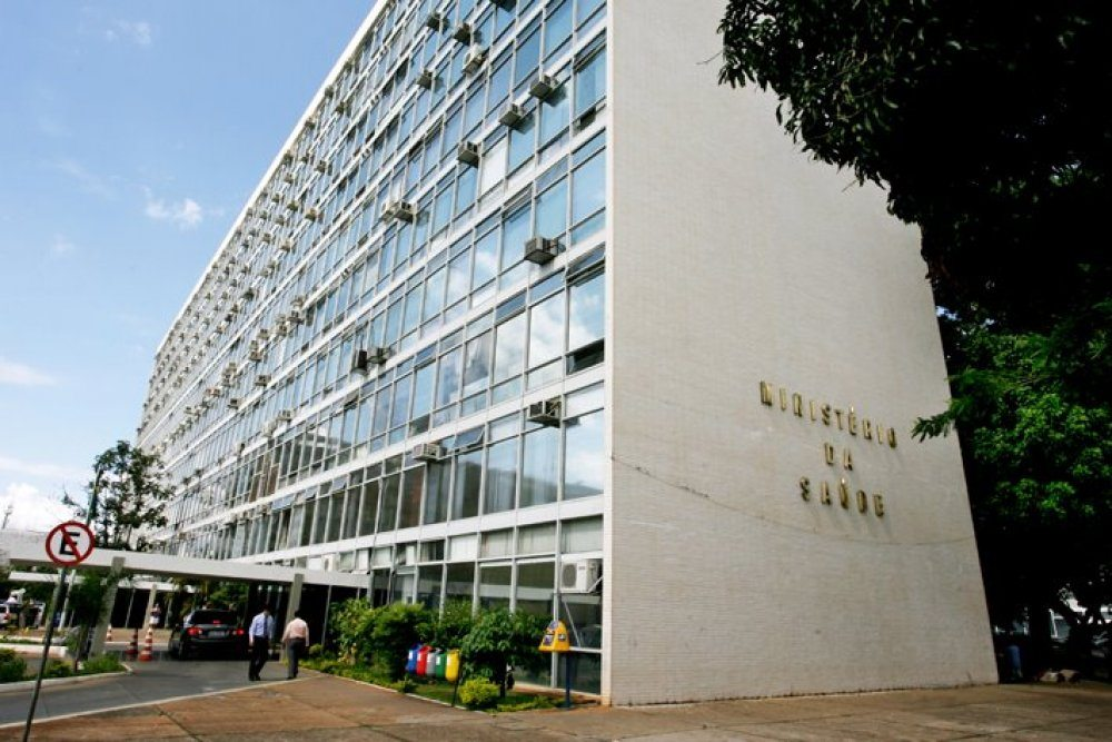 fachada ministério da saúde
