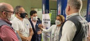 Ministério da Saúde entrega equipamentos hospitalares ao Hospital Universitário de São Luís